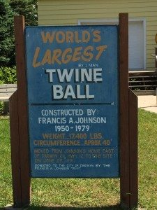 The World's Largest Ball of Twine
