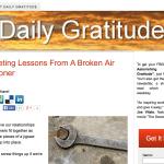 Daily Gratitude Site